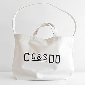 "≪CLASKA Gallery&Shop""DO""≫G&S DO キャンバストートバッグ(ホワイト)"