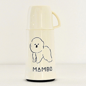 "≪CLASKA Gallery&Shop""DO""≫MAMBO の魔法瓶 250ml(ホワイト)"