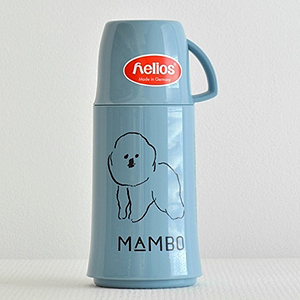 "≪CLASKA Gallery&Shop""DO""≫MAMBO の魔法瓶 250ml(ブルー)"