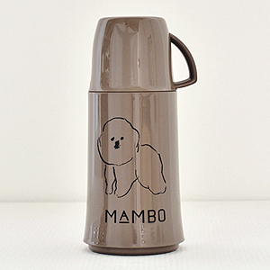 "≪CLASKA Gallery&Shop""DO""≫MAMBO の魔法瓶 250ml(グレー)"