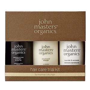 ≪ジョンマスターオーガニック≫ヘアケアトライアルキット for normal/dry hair