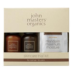 ≪ジョンマスターオーガニック≫スキンケアトライアルキット for normal/dry skin