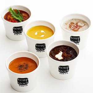 ≪スープストックトーキョー≫定番の6スープセット ★