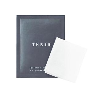≪THREE≫ボタニカルエッセンス ネイルポリッシュ リムーバー