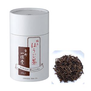 ≪一保堂茶舗≫極上ほうじ茶 60g中缶箱