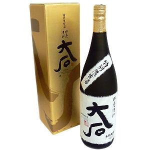 ≪熊本・大石酒造場≫米焼酎 大石 琥珀熟成 1800ml
