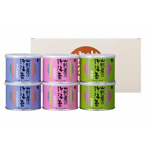 ≪山形屋海苔店≫海苔詰合せ(6缶入) SYA-300
