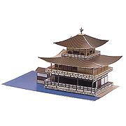 <東急百貨店>【ペーパーモデル ミニ】8.金閣寺画像