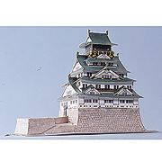 <東急百貨店>【ペーパーモデル ミニ】9.大阪城天守閣画像