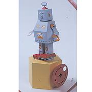 <東急百貨店>【からくりペーパークラフト】3.ロボット行進曲画像