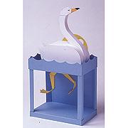 <東急百貨店>【からくりペーパークラフト】8.素顔の白鳥画像