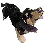 <東急百貨店>【Paper Design2】ミニチュアダックスフント画像