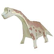<東急百貨店>【すぐできる紙恐竜2】ブラキオサウルス画像