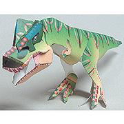 <東急百貨店>【すぐできる紙恐竜5】ティラノサウルス画像