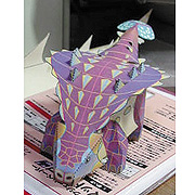 <東急百貨店>【すぐできる紙恐竜7】サイカニア画像