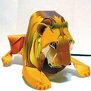 <東急百貨店>【すぐできる動物】1ライオン