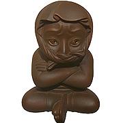 <東急百貨店>≪籔内佐斗司≫ 新作ブロンズ「小ねずみ小僧」画像