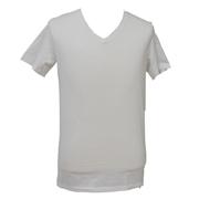 <東急百貨店>Vネックシャツ(ホワイト)画像