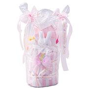 <東急百貨店>≪赤ちゃんの城≫ ギフトセット「タオルリボンケーキ」(ピンク)画像