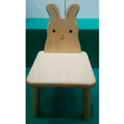 <東急百貨店>≪大原工芸≫ウサギ椅子画像