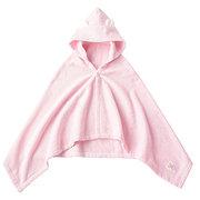 <東急百貨店>≪ファミリア≫ポンチョ型バスタオル(ピンク)