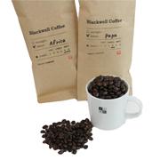 <東急百貨店>≪BLACKWELL COFFEE≫ギフトセット(Africa/Papa・豆)画像