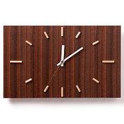 <東急百貨店>≪ドリーミィーパーソン≫壁掛け時計 ナガテンクロック ウォルナット画像
