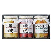 <東急百貨店>≪京橋千疋屋≫フルーツコンポート 3本
