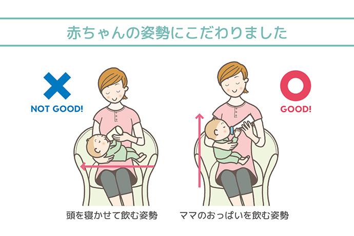 ミルク むせる 赤ちゃん